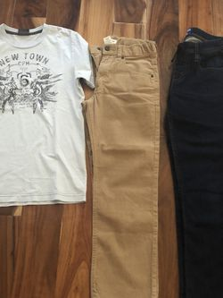 Gymboree Pants Size 10 youth . Levi's Jeans Soft Size 12 youth Very Comfortable for Sale in Des Plaines,  IL