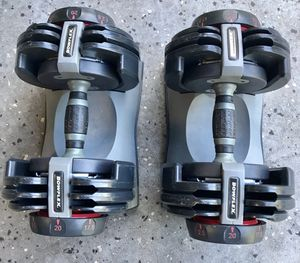 Bowflex Adjustable Dumbbell Weight Set for Sale in Portland, OR