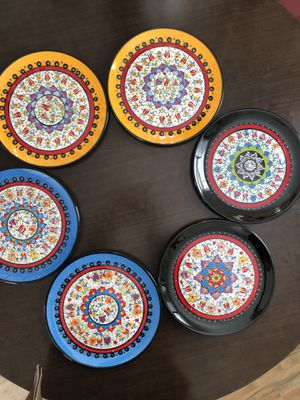 Handmade ceramic plates for Sale in Leesburg, VA