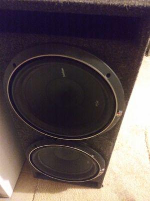 """12"" speakers Rockford. Fosgate/ and two 1,000 watt amps for Sale in Dover, DE"