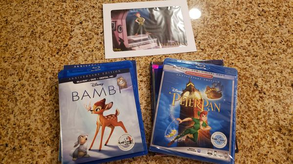 Anniversary Edition Bambi & Peter Pan