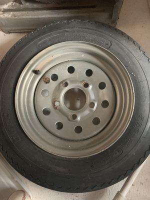 Trailer tire and rim for Sale in Snellville, GA