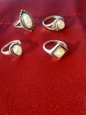 6 Moonstone rings for Sale in Las Vegas, NV