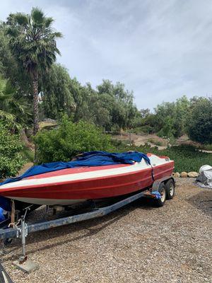 Boat and trailer for Sale in El Cajon, CA