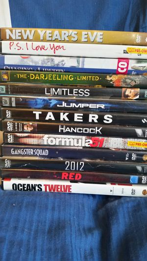 $1 each or $20 for all 30 dvds. All Great condition. for Sale in Hermon, ME
