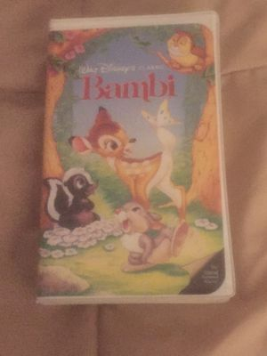 Vintage Bambi VHS Tape for Sale in Rancho Cucamonga, CA