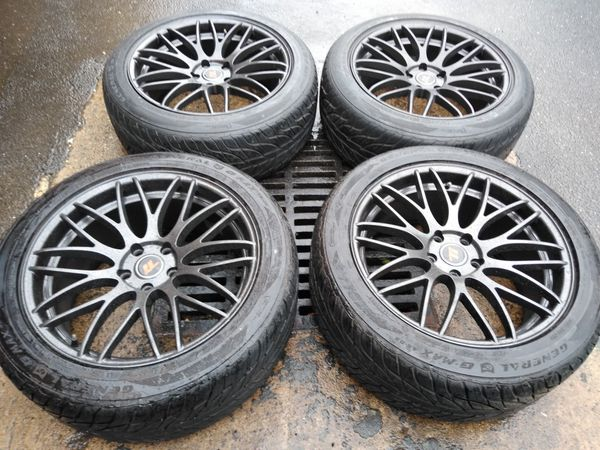 19 rims 5x114 fit Mustang Dodge Nissan Infinity Chrysler