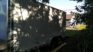 6by14 enclosed trailer double axel for Sale in Columbus, OH