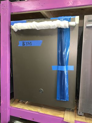 New scratch and dent GE slate dishwasher with warranty for Sale in Halethorpe, MD