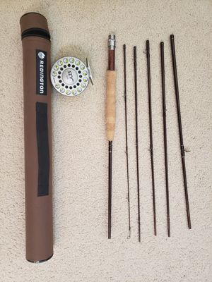 Redington classic trout fly fishing rod 5 wt 6 piece travel for Sale in Castro Valley, CA