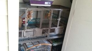Very nice birdcage for sale with divider and stand great condition! ! for Sale in Tampa, FL
