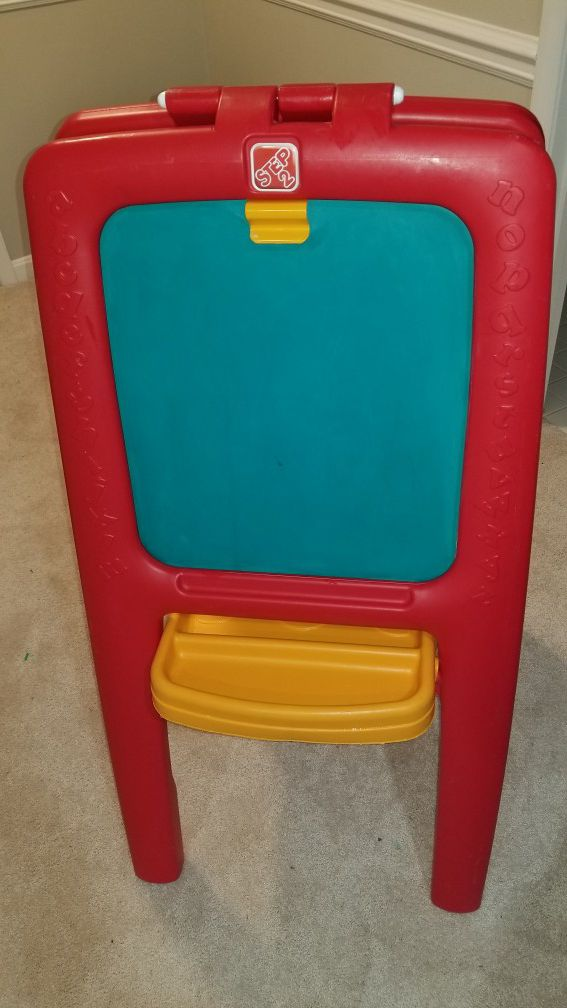 Stand Up Dry Erase/Chalkboard