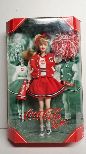 Coca-Cola Cheerleader Collector Barbie for Sale in North County, MO