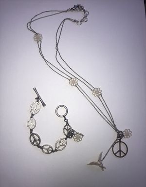Lucky Brand Peace jewelry set for Sale in Pittsburg, CA