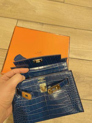 Hermes Birkin Blue bag for Sale in Los Angeles, CA