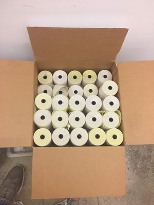 Rolls of receipts - offer up for Sale in Jersey City, NJ