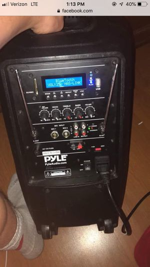 Pyle audio speaker for Sale in Columbus, OH