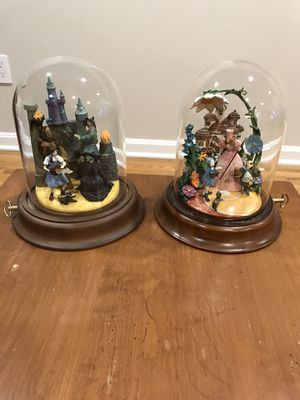 Large Wizard of Oz witch Glinda domed music for Sale in Springfield, VA