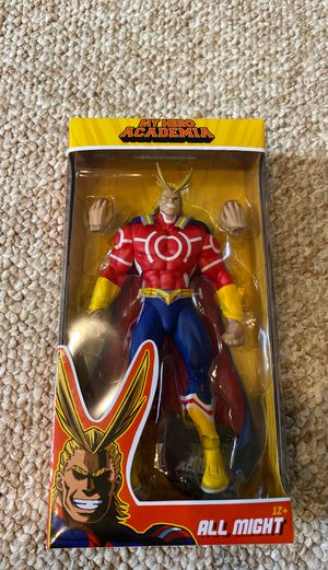 McFarlane Toys All Might MHA Figure for Sale in Tracy, CA
