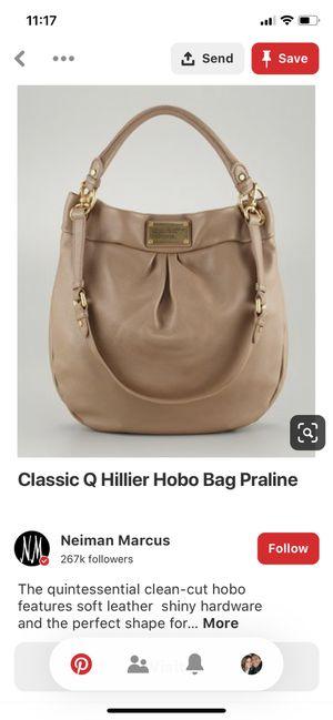 Marc Jacobs Classic Q Hobo handbag for Sale in Peoria, AZ
