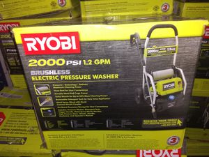 Ryobi 2000 PSI Electric Pressure Washer for Sale in Atlanta, GA