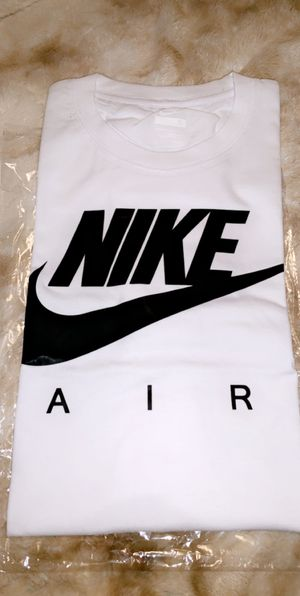 White & Black Nike T- Shirt for Sale for sale  Lawrenceville, GA
