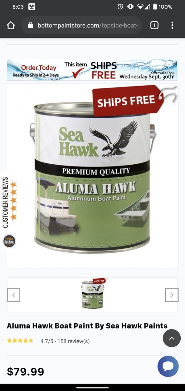 Brand new aluminum paint all in one
