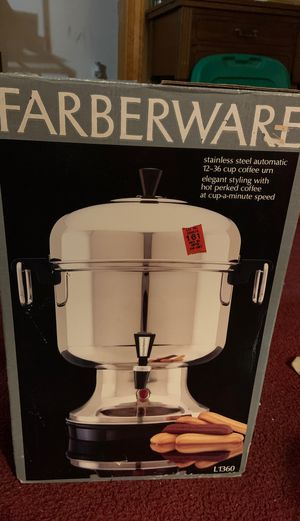 Stainless Steel Coffee Maker for Sale in Dundalk, MD