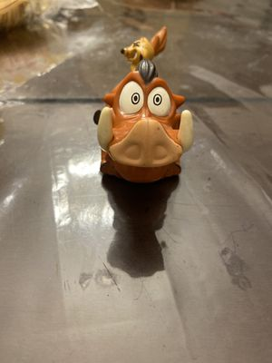 Vintage Burger King Disney Timon and Pumba The Lion King Figure Toy COLLECTIBLE for Sale in Crandall, TX