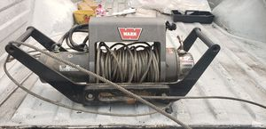 Warn XD9000i 9000 lb winch on tow hitch mount for Sale in Santa Ana, CA