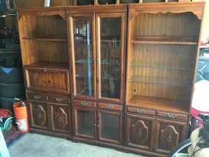 Wall unit 3pc for Sale in Oxnard, CA