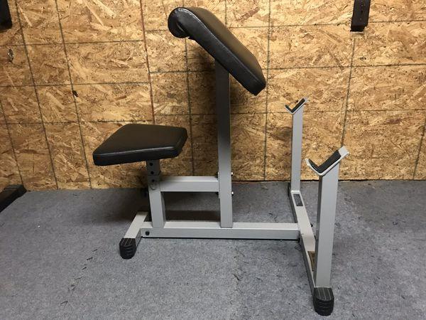 BodySolid Preacher curl bench