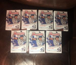 7 bowman mini blasters baseball cards for Sale in Yakima, WA