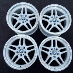 """BMW 740i 740il M-Parallel M-Sport Style 37 FORGED Wheels Rims 5x120 E38 OEM 18"""" for Sale in Sacramento,  CA"""