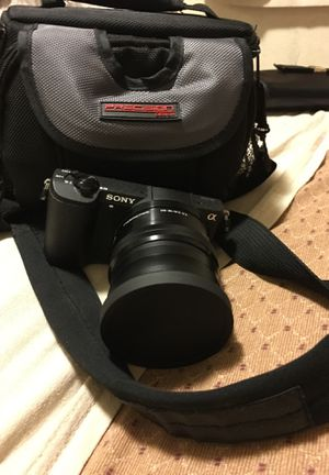 Sony a5100 camera with accessories & insurance for Sale in Waianae, HI