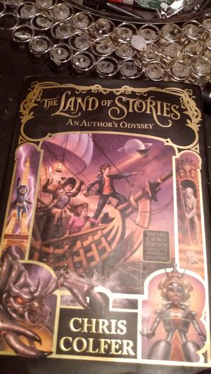 The Land of stories an author's Odyssey Chris colfer for Sale in Prairieville, LA