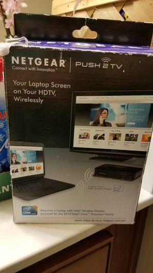Netgear push2tv wireless adapter for Sale in Charlotte, NC