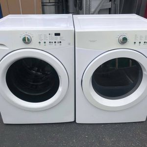 Frigidaire 3.7cuf + 7.0 Cuf Electric 220v Dryer for Sale in Oceanside, CA