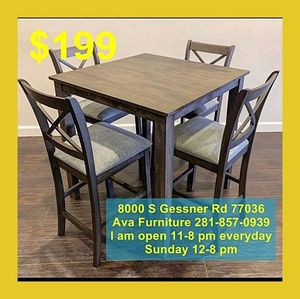 5pc dining room table set $199 for Sale in Houston, TX