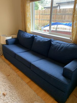 Blue Sleeper Sofa - Great Condition! for Sale in Washougal, WA