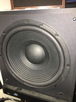 Pioneer receiver to Bose speakers in a 12 inch subwoofer for Sale in Pittsburgh, PA
