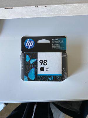 HP ink 98 black for Sale in Nashville, TN
