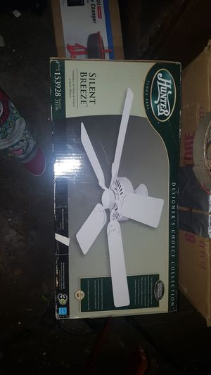 Hunter Silent Breeze Ceiling Fan for Sale in Fort Worth, TX