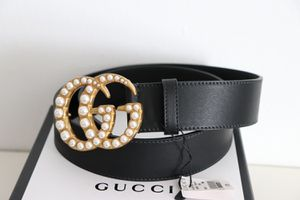 "NWT Gucci 1.5"" Pearl Double G Buckle Belt for Sale in Philadelphia, PA"