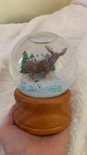 Rare Vintage L.L. Bean Moose Snowglobe Good as New for Sale in Manassas, VA