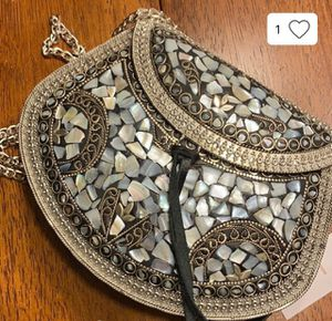 Metal Embossed crossbody for Sale in North Potomac, MD