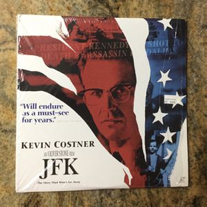JFK The story that won't go away 😃 Laserdisc for Sale in Miami Springs, FL