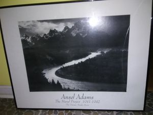 Ansel Adams framed picture for Sale in New Orleans, LA