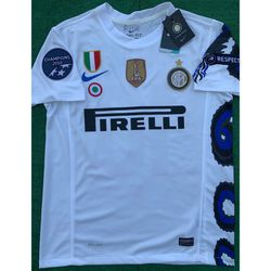 2010/11 Inter Milan retro away soccer jersey for Sale in Raleigh,  NC
