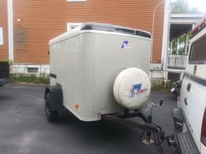 1999 pace enclosed 5'x8'-5' height trailer for Sale in Lynn, MA